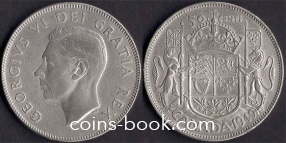 50 cents 1949