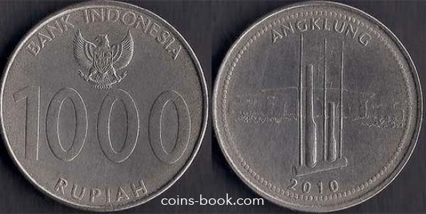 1000 rupiah 2010