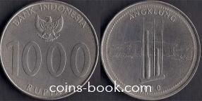 1000 рупий 2010