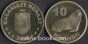 10 крон 2010