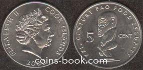 5 центов 2000