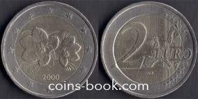 2 евро 2000