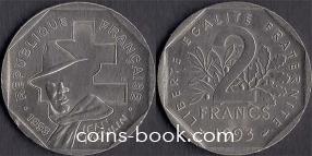 2 франка 1993