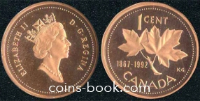 1 цент 1992