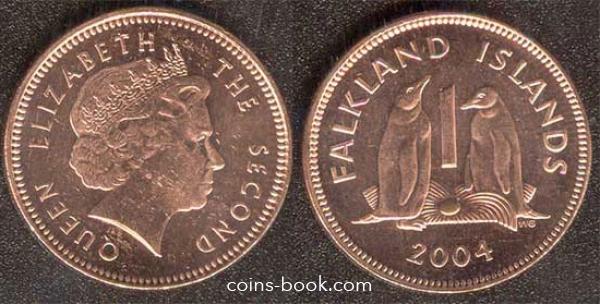 1 пенни 2004
