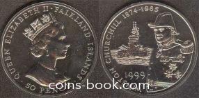 50 пенсов 1999