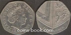 50 пенсов 2008