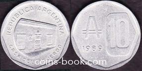 10 аустраль 1989