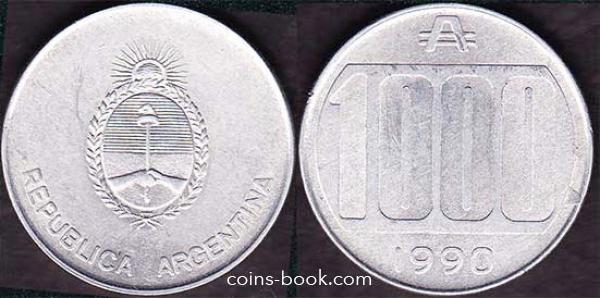 1000 аустраль 1990