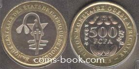 500 франков 2005