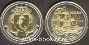 500 франков 2012
