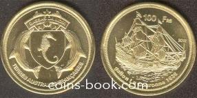 100 франков 2012