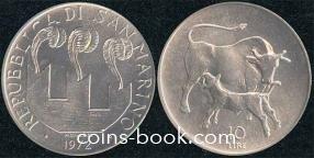 10 лир 1972