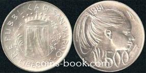 500 лир 1981