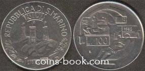 100 лир 1982