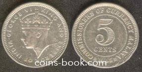 5 центов 1945