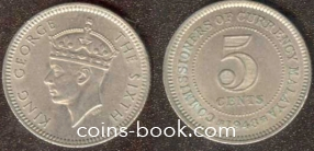 5 центов 1948