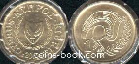 1 цент 2001