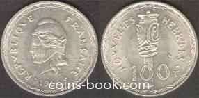 100 франков 1966