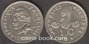 10 франков 1970