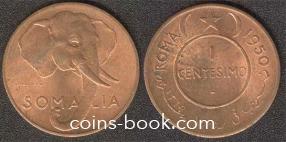 1 centesimo 1950