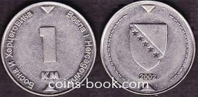 1 конвертируемая марка 2002