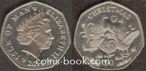50 пенсов 2010