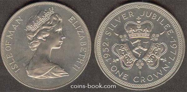 1 crown 1977