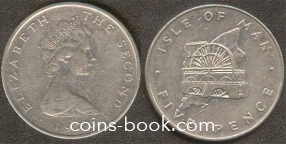 5 пенсов 1976