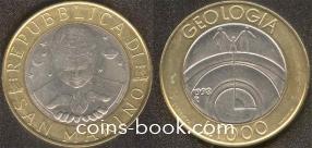 1000 lire 1998