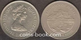 25 новых пенсов 1977