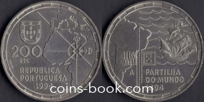 200 escudos 1994