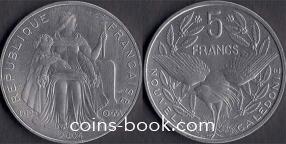 5 франков 2004