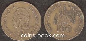 100 франков 1976