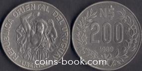 200 песо 1989