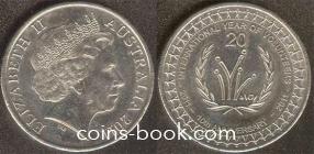 20 центов 2011