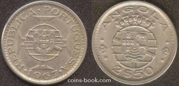 2,5 escudos 1967