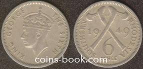 6 пенсов 1949