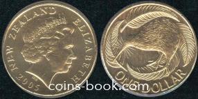 1 доллар 2005