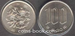 100 йен 2008