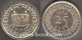 25 центов 1989