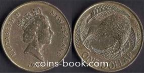 1 доллар 1990