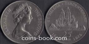 25 пенсов 1973