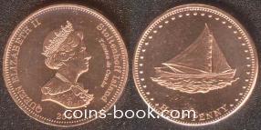 0,5 пенни 2008