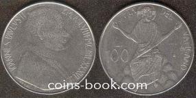 100 лир 1986