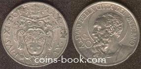 20 centesimo 1936
