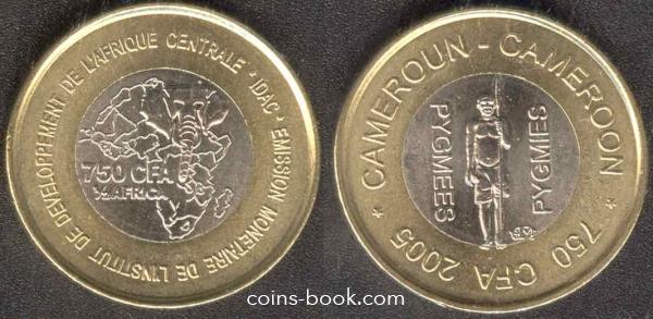 750 франков 2005