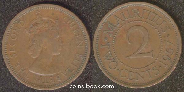2 цента 1957