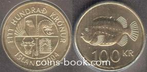 100 крон 2004