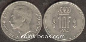 10 франков 1974